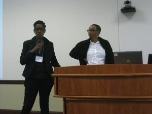 Kisha Milam Brooks and Prudence Browne (UIC)