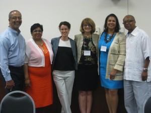 Summit Meeting Planning Team: Robert Blackwell, Rochelle Clump, Jane Marshall, Jeanne Howard, Doris Houston, Michael Burns